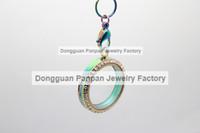Wholesale Panpan inches rainbow rolo chains no locket