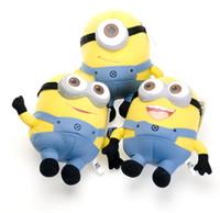 Wholesale Despicable ME Movie Plush Toy quot cm Minion Jorge d eyes Stewart Dave NWT tags set Plush Toys