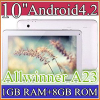 Wholesale MID GHZ HD GB GB Dual Core Allwinner A23 android dual camera inch tablet pc