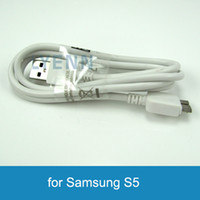 For Samsung   USB Data Charger Cable For Samsung Galaxy S5 Note 3 Micro USB 3.0 Data Sync New White Cords for N9000 N9005 N9006
