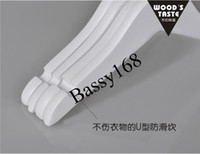clothing made in china - Safe Baby Cloth Hangers Made in China Wood Hangers for Cloth Natural Wooden clothes hangers for baby cloth hanger From Bassy168