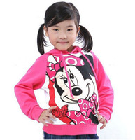 Wholesale Good Quality Children Cotton Cartoon Hoodies children boy s and girl s Hoodies amp Sweatshirts