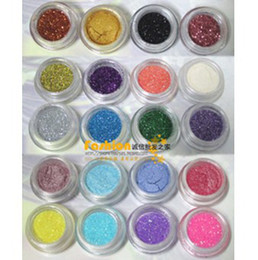 Wholesale Flash powder eye shadow powder bright pink sequins specular powder pearl powder multi color optional