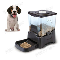 Wholesale Prodhl pc tvcmall PF A Large Automatic Dry Food Portion Control Dog Cat Pet Feeder Timer Auto Dispenser