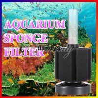 Aquariums & Accessories Filter Media Eco-Friendly Free Shipping New Aquarium Biochemical Bio Sponge Filter Fish Tank Fry Shrimp Breeding Oxygen Filtration Foam XY-2835 Wholesale,dandys