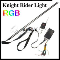 Holiday SMD 3528 Yes 56cm 48 5050 SMD RGB LED Car Flash Knight Rider Light Lamp Strip Waterproof 12V Free Shipping Wholesale,dandys