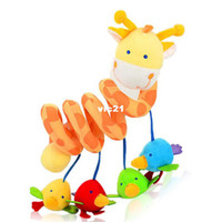 Teddy Bear Multicolor Plush T0869 High-quality deer pendent around the bed plush toys Baby stroller toys wholesale