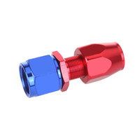 Wholesale Aluminum Red AN10 Straight Swivel Oil Fuel Hose End Fitting Adapter