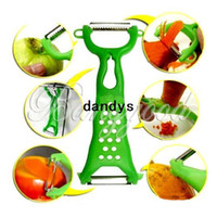 Wholesale Hot Colors Vegetable Fruit Peeler Parer Julienne Cutter Slicer Kitchen Easy Tools Gadgets Helper dandys