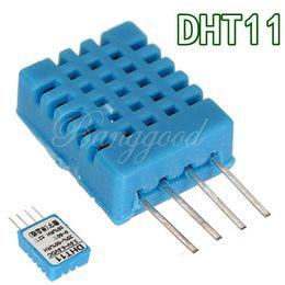 Wholesale 10pcs DHT11 Digital Temperature Humidity Sensor Moudle Probe For HVAC Arduino pins dandys