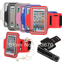 For Apple iPhone arm cover protectors - Diamond Sport Gym Running Waterproof Arm Band Strap Holder Case Cover Protector Bag Wallet Pouch For Apple For iPhone s c G dandys