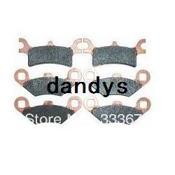 Wholesale New Front Rear Brakes Brake Pads for Polaris Sportsman x4 EFI dandys