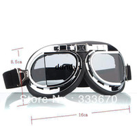 Wholesale New Aviator Pilot Motorcycle Sport Ski Clear Goggle Eyewear Scooter Goggle Glasses dandys