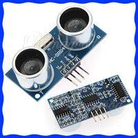 Wholesale HC SR04 for Arduino Ultrasonic Wave Module Distance Measuring Transducer Sensor New dandys