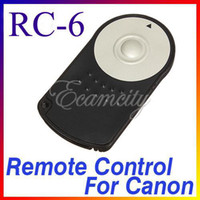 Wholesale Hot RC Wireless Remote Control IR for Canon EOS Rebel T3i D D D D Mark II dandys