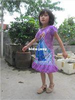 TuTu Summer Straight Girl dress 2014 summer new arrival frozen princess elsa anna dress girls clothing manufacturers China retail free shipping