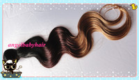Brazilian Hair Body Wave Ombre Color #1b#4#27 Hot Sale!!!Ombre Color #1b#4#27 Brazilian Body Wave Weft 100% Remy Human Hair Extensions 12''--28'' In Stock 3 pcs lot Free Shipping by DHL