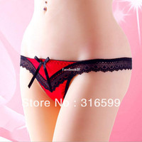 Wholesale Super Sexy Panties Fancy Nighty Wear Panties Young Lady Thong Lace Sexy Panty Underwear Dropship YST8013