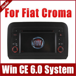 Wholesale Car DVD Player for Fiat Croma with GPS Navigation Navi Radio Bluetooth Map USB SD AUX Auto Video Audo Stereo Sat Nav