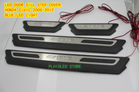 Wholesale LED DOOR SILL PLATE FOR H ONDA C IVIC
