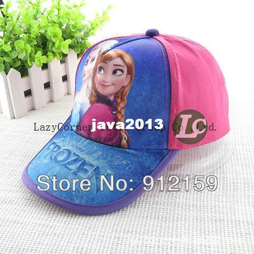 NEW 1pcs Adjustable Fashion cartoon frozen Hat Snapback cap girl/'s sports peaked hats Hip Pop Baseball cap wholesale