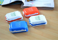 Cheap EMS Free Shipping Folca Pill Case Medicine Storage Box Pill Box Tablet Case Jewelry Case Organizer #K07755
