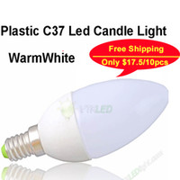 Wholesale Hot led bulb e14 w v LED candle light lamp warm white e14 led v candle e14 warm white