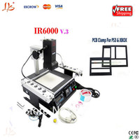New bga rework - Freeshipping IR6000 V Infrared BGA Rework Station IR6000 BGA rework repair machine bga machine soldering station gifts