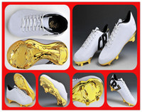 Men PU Rubber Hotsale 2013 CR7 Outdoor Football Shoes Men New Soccer Cleats Best Quality Best Package New Arrivals