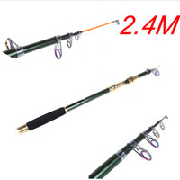 Wholesale Durable M FT Portable Telescope Fishing Rod Travel Spinning Carbon Fiber Fishing Pole H10180
