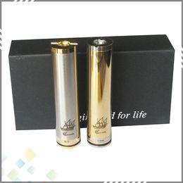 Vaporizer Caravela Mod Ecig Full Mechanical Clone Mod with gift box 2 tubes high quality DHL Free
