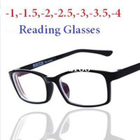 Wholesale 2014 New Driving Cycling Reading Glasses For Men Women Black Coat Film Ultralight Frame Reading Writing Glasses Dioptre With Box