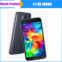 Wholesale 5 inch S5 i9600 MTK6582 Quad core M GB Android GPS G wifi Single SIM with Air Gesture function smart phone