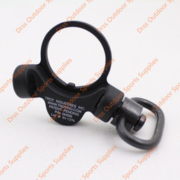 Wholesale Drss Troy Steel Dual Side QD Sling Swivel Black For GBB Version Black Dark Earth DS1933