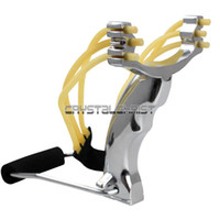Wholesale Steel thunderstorm Power Outdoor Hunting Slingshot Catapult Wrist Brace Support
