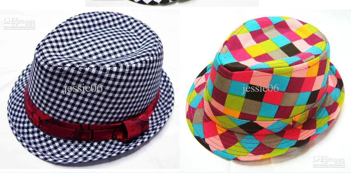2017 cool baby children s jazz grid cap hat boy