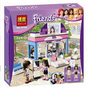 Plastics beauty shop toys - Bela Building Blocks Friends Beauty Shop Construction Sets Educational Bricks Toys for Girls Compatible Bricks