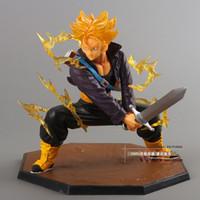 battle box - Dragon Ball Z Super Saiyan Trunks Battle Version Boxed PVC Action Figure Model Collection Toy quot cm DBFG081