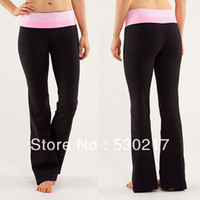 Wholesale 2013 NEW Lululemon Groove Long Pants yoga pants lulu lemon Brand size High Great Quality