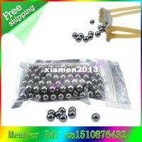 Wholesale New x mm Catapult Slingshot Hitting Ammo Steel Ball Bike Bearing Balls for hunting shooting outdoor