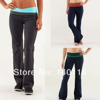 Wholesale New Arrival lululemon pants Cheap Yoga clothing lulu lemon yoga pants Size lululemon store Hot sale