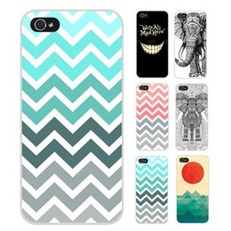 Wholesale S5Q Retro Chevron Art Paint Hard Case Back Cover Protector Skin For iPhone S AAACYD