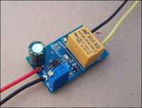 Cheap Car electrical appliances time delay relay control module 12v delay time adjustable ne555 relay, free shipping