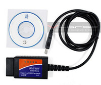 Wholesale automotive diagnostic tester ELM327 USB car diagnostic obd2 fuel consumption measurement