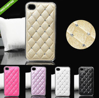 New Hybrid Bling Leather Hard Back Cover Skin Case For Iphon...