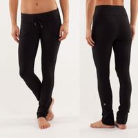Wholesale hot sale lulu lemon Wunder Under pants women fanshion girls Trousers Yoga dance studio paris girl sport pants