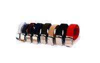 Belts canvas belts - Mens Fashion Canvas Belt Boy Waistband