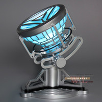 arc light reactor - Toys Legend scale Iron Man Arc Reactor with LED Light Iron Man PVC Action Figure Toy HRFG128
