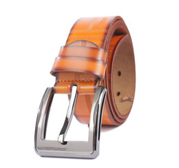 Mens Casual Genuine Leather Belt Waistband