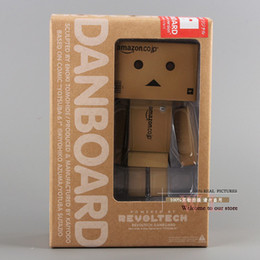 Wholesale Cute Lovely Danboard Danbo Doll PVC Action Figure Toy with LED Light Amazon Style cm OTFG019